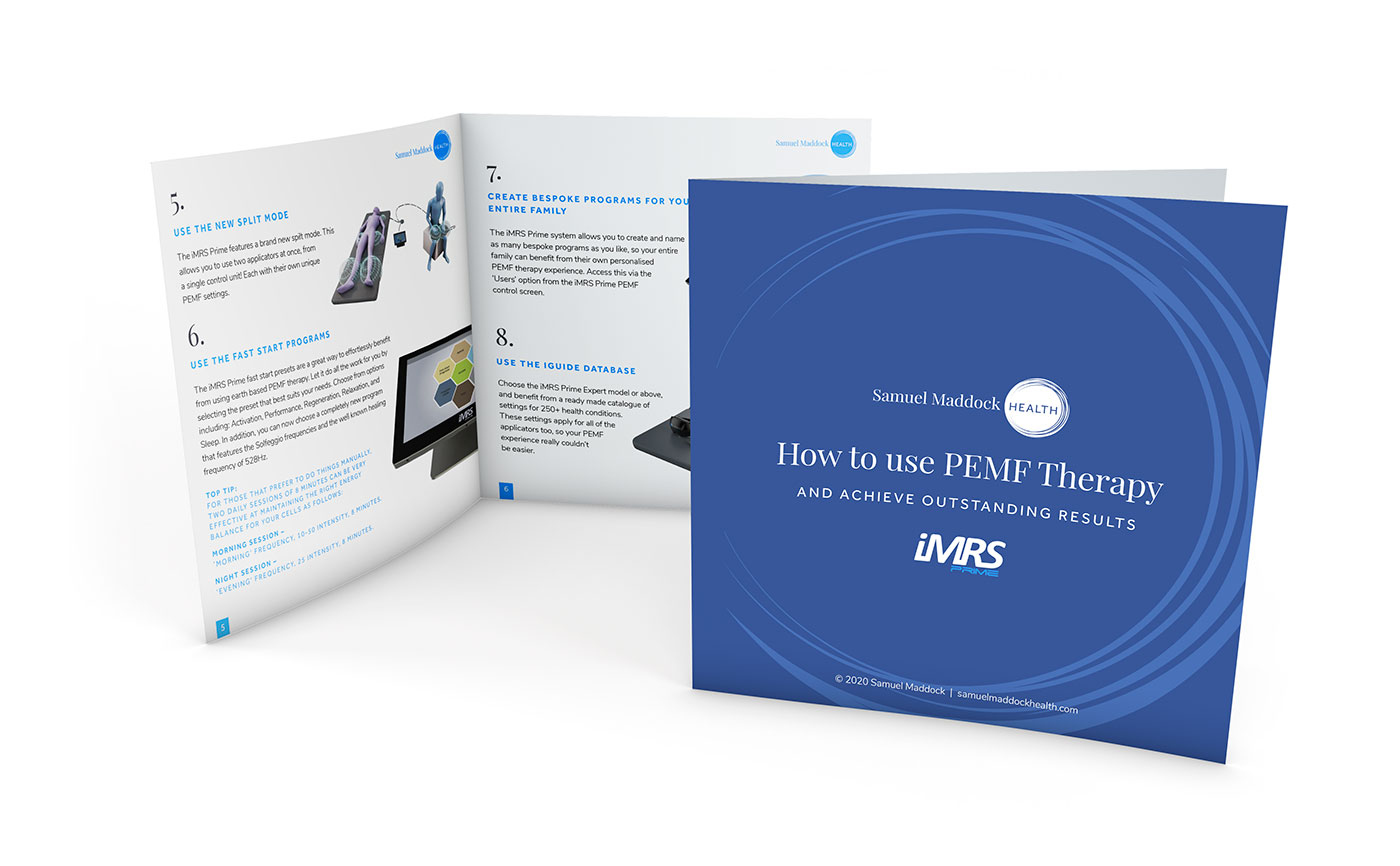 How to Use PEMF Therapy Guide Mockup